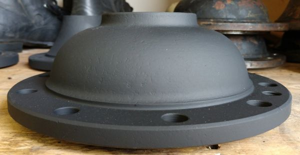 Desplined Front Axle Caps for Rockwell 5 ton Axles