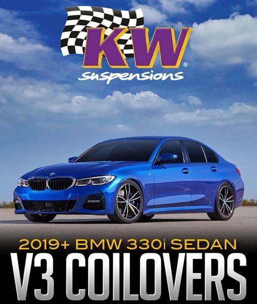 352200CJ, KW Coilover Kit V3 2019+ BMW 330i Sedan 2WD (G20