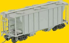 KADEE HO UNDECORATED PS-2 2 BAY COVERED HOPPER