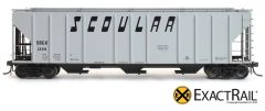 EXACT-RAIL HO EP-80178 SBGX/SCOULAR PS-2CD 4427 Covered Hopper Assorted Road Numbers