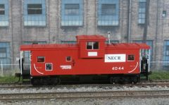 ATLAS HO NEW ENGLAND CENTRAL #4044 WIDE VISION CABOOSE R-T-R