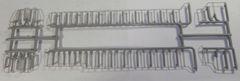 ATHEARN RTR HO CSX SD40-2 GRAY HANDRAIL SET
