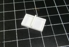 HOD DUAL ENCLOSURE 24 x 15 x 3mm For 2 Mini 15 x 11mm Speaker [Sugar Cube]