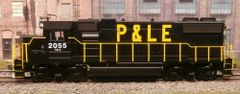 ATHEARN HO R-T-R PITTSBURGH & LAKE ERIE #2055 EMD GP38-2 DIGITRAXX DCC INSTALLED