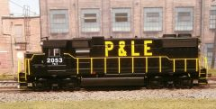 ATHEARN HO R-T-R PITTSBURGH & LAKE ERIE #2053 EMD GP38-2 DIGITRAXX DCC INSTALLED