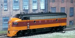 ATHEARN GENESIS MILWAUKEE ROAD #73A EMD F7A DC ONLY