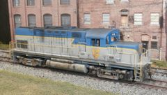 ATLAS HO DELAWARE & HUDSON #408 ALCO C420 LIGHTNING STRIPE WEATHERED w/LOKSOUND