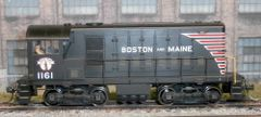 ATLAS MASTER HO BOSTON & MAINE #1161 ALCO HH660 DIGITRAX DCC INSTALLED