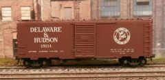 KADEE HO #4004 DELAWARE & HUDSON #19114 40' PS-1 BOXCAR