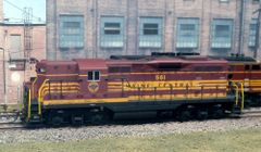 ATLAS HO MAINE CENTRAL #561 GP-7 LIGHTLY WEATHERED w/TCS WOW121 SOUND