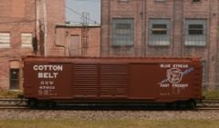KADEE HO #6707 COTTON BELT (SSW) #47601 50' PS-1 DOUBLE DOOR BOXCAR