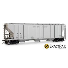 EXACT-RAIL HO EP-80167 NORTHERN PACIFIC PS-2CD 4427 Covered Hopper Assorted Road Numbers