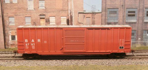 BRANCHLINE HO BANGOR & AROOSTOOK #5791 50' BERWICK BOX CAR