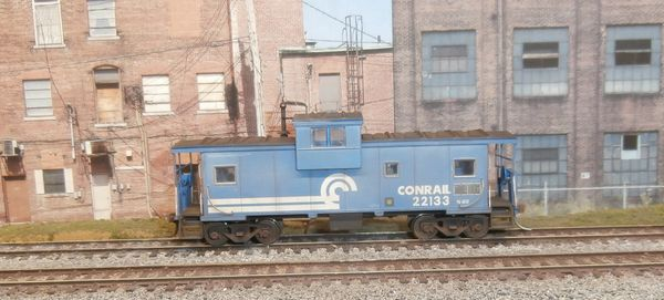 ATLAS HO #1903-1 CONRAIL #22133 WEATHERED WIDE VISION CABOOSE