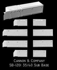 CANNON & CO #1201 ALL EMD 35 & 40 SERIES CAB SUB BASE KIT