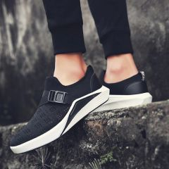 Chic Gauze Slip On Men Sports Shoes