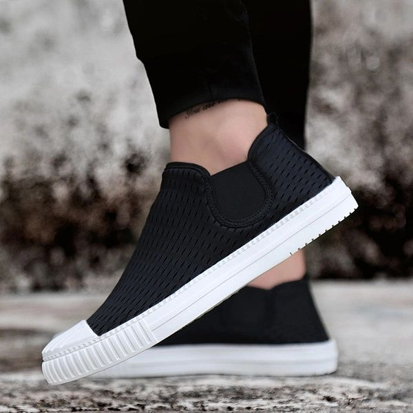 Slip On Round Toe Loafers Men Sneakers