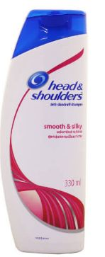H&S Shp Smooth&Silky 330ML