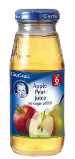 Gerber Juice Apple Pear 175ML