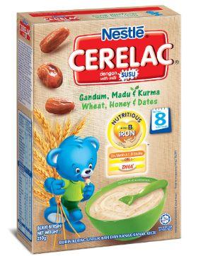 Nestle Cerelac Wheat&Dates & Honey 250G