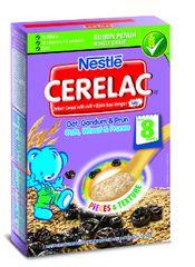 Nestle Cerelac Oats&Wheat&Prunes 250G