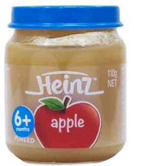 Heinz Fruity Apple 110G