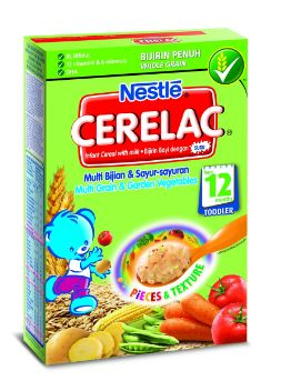 Nestle Cerelac M'grain+Gard Veg 250G
