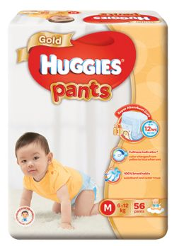 Huggies Gold Pants M 56S