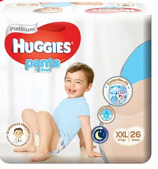 Huggies Platinum Pants Boys XXL 26S