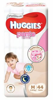 Huggies Platinum Pants Girl M 44S