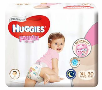 Huggies Platinum Pants Girl XL 30S