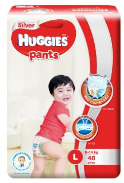 Huggies Silver Pants L 48S