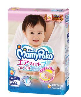 Mamy Poko Air Fit Diaper M 64S