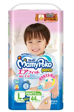 Mamy Poko Air Fit Pants Boy L 44S