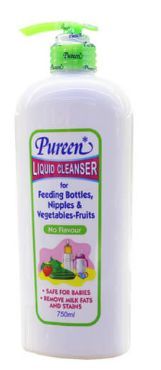 Pureen Liquid Cleanser No Flavour 750ML