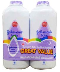 Johnson & Johnson's Powder Bedtime 2x500g