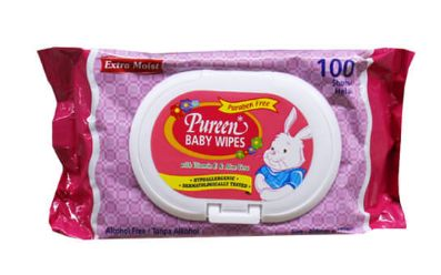 Pureen Wipes 100S
