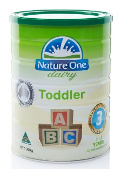 Nature One Dairy Toddler Nutri. S3 900G