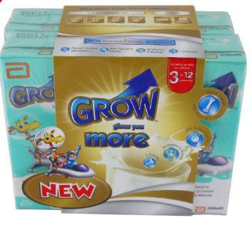 Grow RTD Milk Vanilla 6X180ML