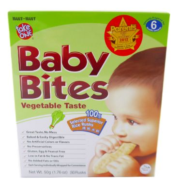 Take One Baby Bites Ckn&Veg 50G