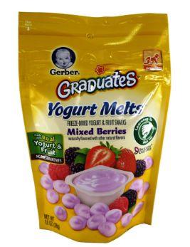 Gerber Yogurt Melts Mixed Berry 28G