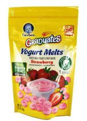 Gerber Yogurt Melts Strawberry 28G