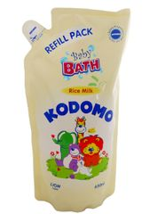 Kodomo B/Bath Rice Milk Ref 650ML