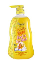Pureen Kids Yogurt Htt Wash M&P 750ML