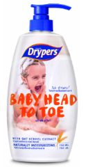 Drypers Baby Head To Toe 750ML