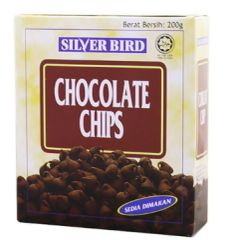 Silver Bird Choc Chips 200G