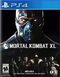 PS4 Mortal Kombat XL with MDA stickers