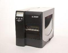 Zebra ZM400 printer, 203dpi, 8MB/16MB, ZPL, UK plug, Cutter & tray