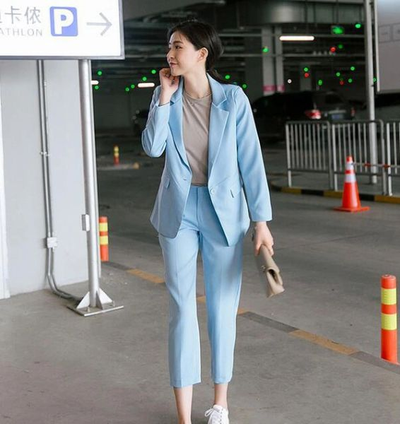 New Arrival Solid Woman Business Suits Online