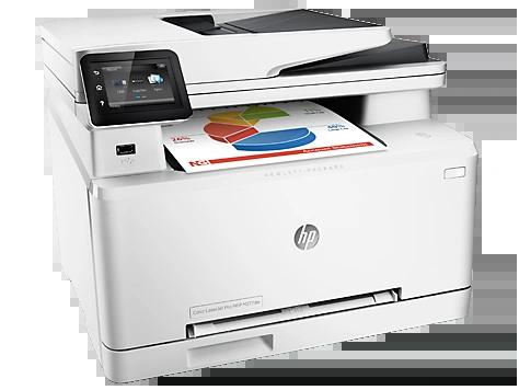 HP LASERJET PRO CLR MFP M277DW